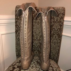 Chinese Laundry Shoes - Chinese Laundry over the knee flat boots